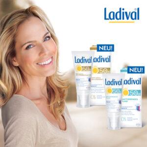 Purer Sonnenschutz mit Ladival
